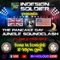 Indesign Soldier | UK vs USA | 'Pancake Day' Jungle Soundclash