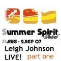 Leigh Johnson LIVE! @ Summer Spirit Festival 2007