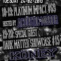 Koney Dark Matter Showcase on Gabber.FM 24/02/2015