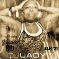 DJ Lady D - Vocalo Radio - Jan 2021