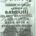 Bandulu live at Herbal Tea Pary Manchester 9th February 1995