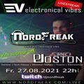 EVT#036 - electronical vibes radio with Joston & NordFreak