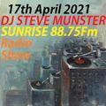 DJ Steve Munster Radio Show 17th April 2021