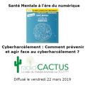 """Santé Mentale à l'ère du Numérique #5 : """"Cyberharcèlement"""""""
