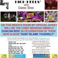 A LOW LIFE IN HIGH HEELS WITH GWEN EVER RADIO SHOW 15TH JULY 2020 EDITION
