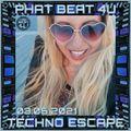 Phat Beat 4U Live Techno Escape on HNT Radio 03.06.2021 2:00-4:00 AM EST US & CA, 7:00-9:00 AM GMT