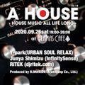 [Live DJMix] A HOUSE Vol.18 at Alamas Cafe (Shinjuku) - 09.26.2020 Part1