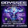 Kjub @ Odyssee 2019 - Berlin´s nye psychedelic music & arts festival - goa roof [2018.012.31]