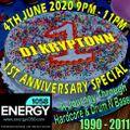 1990-2011 Hardcore, Jungle & Drum & Bass - DJ Kryptonn - Energy1058.com 4th June 2020