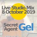 8 Oct, 2019: Secret Agent Gel in the studio