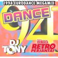 DJ Tony - 1994 Eurodance Megamix @ Retroperjantai, Radio Nova 16.10.2020
