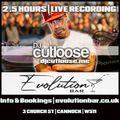 DJCUTLOOSE.ME | EVOLUTION WINE BAR | 2.5 HOURS LIVE