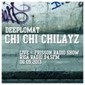 Chi Chi Chilayz Live @ Frisson Radio Show, Riga Radio 94,5 FM // Sept 2013