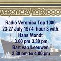 Radio Veronica - Top 1000 1974 (part 3) Hans Mondt & Bart van Leeuwen
