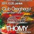 2011 10 28 Thomy live at Remember Öreghegyi Club Bakar Gyöngyös Pt2