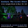 The Cosmic Effect: Live Drum & Bass DJ Set, Open-Air (07.28.2020)