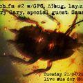 roach.fm #2 w/GFC, D3bug, lay:z, Scary Gary, Special Guest: Samadee