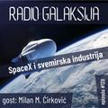 Radio Galaksija #128: SpaceX i svemirska industrija (gost: dr Milan M. Ćirković) [18-05-2021]