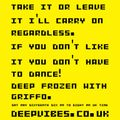 DEEP FROZEN WITH GRiFFO - 'STAY ALERT SESSION' - MAY 2020 - DEEPVIBES.CO.UK