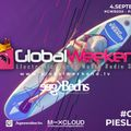 Global Weekend Broadcast #050 - Kgee & Bechs (Live from veikaprks.lv & awake)
