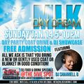 DJ SHANNELL B LIVE AT THE MLK COAT DRIVE