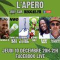 Studio One l'émission - Interview Kubix et Apero Reggae.fr spé Cannabis - 10.12.20