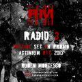 Ruben Montesco @ Radio 3 (2013) Set 3h PURE TECHNO