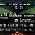 Deepersense music 2nd Anniversary || mlab @ barka - Krakow - Poland 17 March 2018