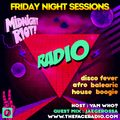 Midnight Riot Radio with guest Jaegerossa host Yam Who? 08 - 1 - 21
