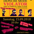 Depeche Mode Violator - Ultimate A&R Guide - Book-Release-Party 15.09.2018 by DJ airman