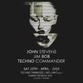John Stevens live at Techno Paradize, April 20th  / No Limit, Colonia - Germany 2019
