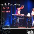 Coline & Toitoine @ Jardin Publik 24/10/2019