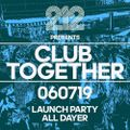 Scott Featherstone - Club Together @ 212 Leeds UK Terrace 17:00-18:00 6.7.19