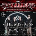 The Michael Spiggos Melodic Rock Show featuring Simon Hinkler (The Mission UK) 18.09.2016