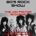 Jon Morter on Hard Rock Hell Radio - The Jon Factor 335 - 16th January 2021