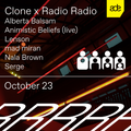 Alberta Balsam - Clone x Radio Radio - ADE