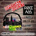 "Munich DJ Streams #2: DJ Rok`Am LIVE ""128BPM to go"""