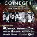 Oct-21-2018 CONNECT!!! 6th Anniversary!!! (Reproduction)