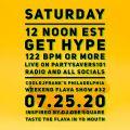 Get Hype 122BPM or More. cooldjfrank's Philadelphia Weekend Flava Show #32 072520