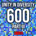 Kristofer - Unity in Diversity 600 (best of III) @ Radio DEEA (01-08-2020)