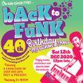 Back to Funk Anniversary mix - Blaze - 12th Dec 2020