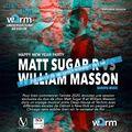MATT SUGAR R / WILLIAM MASSON- HAPPY NEW YEARS 2020-WARM UNDERGROUND SESSION