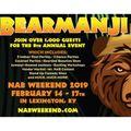 North American Bear Weekend Friday Feb 15 2019