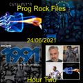 Prog Rock Files 24/06/2021 Hour Two