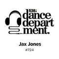 The Best of Dance Department 724 with special guest Jax Jones