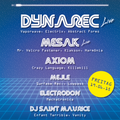 Dynarec Live @ Mechatronica at Grießmühle - 19.06.15 Snippet