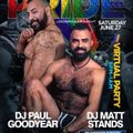 DJ Paul Goodyear Bearracuda Gay Pride 2020 Part 1