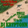 1993-1996 Jungle Classics - DJ Kryptonn - energy1058.com 5th March 2020
