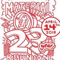 Road choons for material reunion mixed b2b with Haloscope (aka goldenyearz)