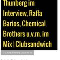 Seaward & Thunberg - Squid Roe Records - Guest Mix for ClubSandwich on FluxFM Berlin.